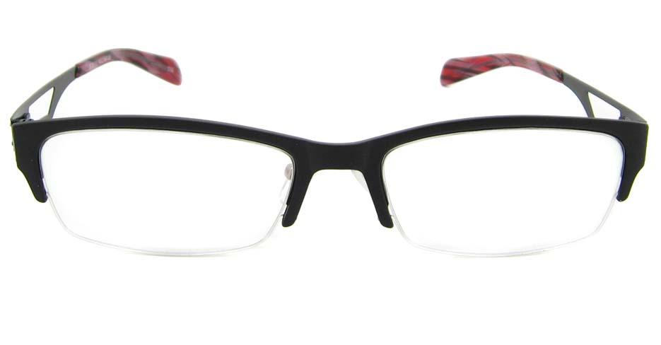 Black Blend oval Glasses  TD-JC8115-C2