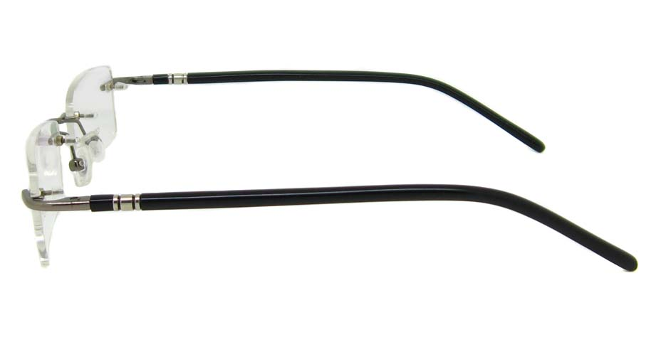 Black Metal rim Rectangular  frame YJ-J1290-HS