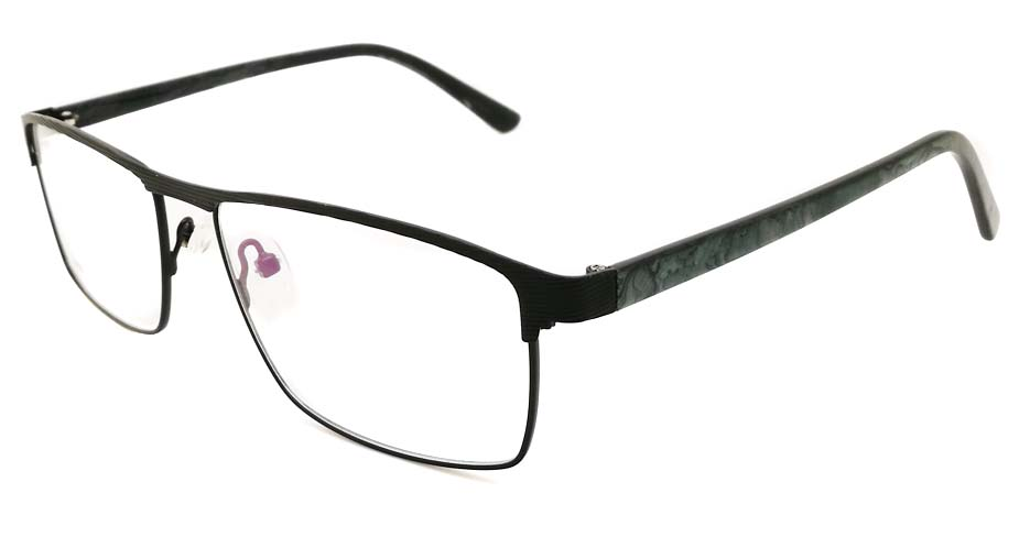 Black Rectangular blend glasses frame JX-32062-C4