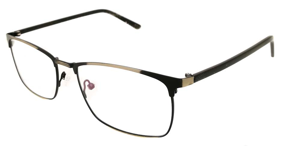 Grey Rectangular blend glasses frame JX-32061-C14