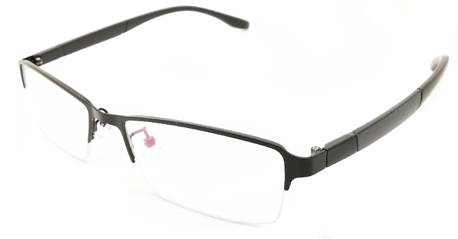 Black blend Rectangular glasses frame JX-3038-C4