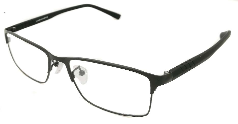 Black blend Rectangular glasss frame P8021-c1