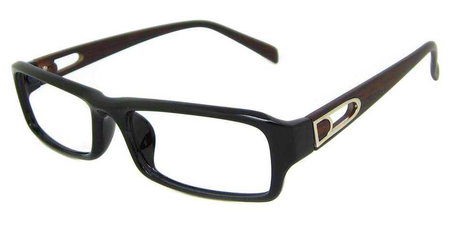 Black  with wooden Plastic rectangular  frame YJ-KF8055-C30