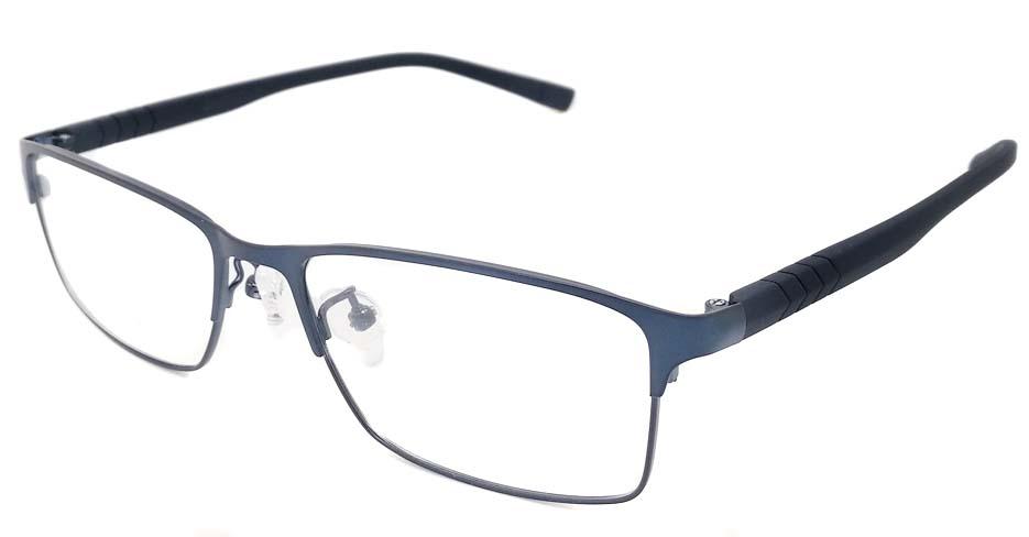 Blue blend  Rectangular  glasss frame P8021-c4