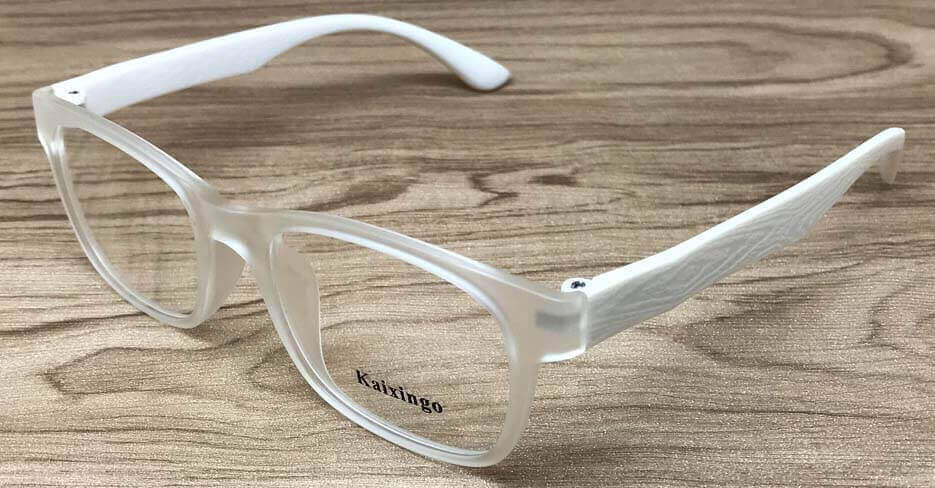 TR oval clear glasses frame KXG-999-C25