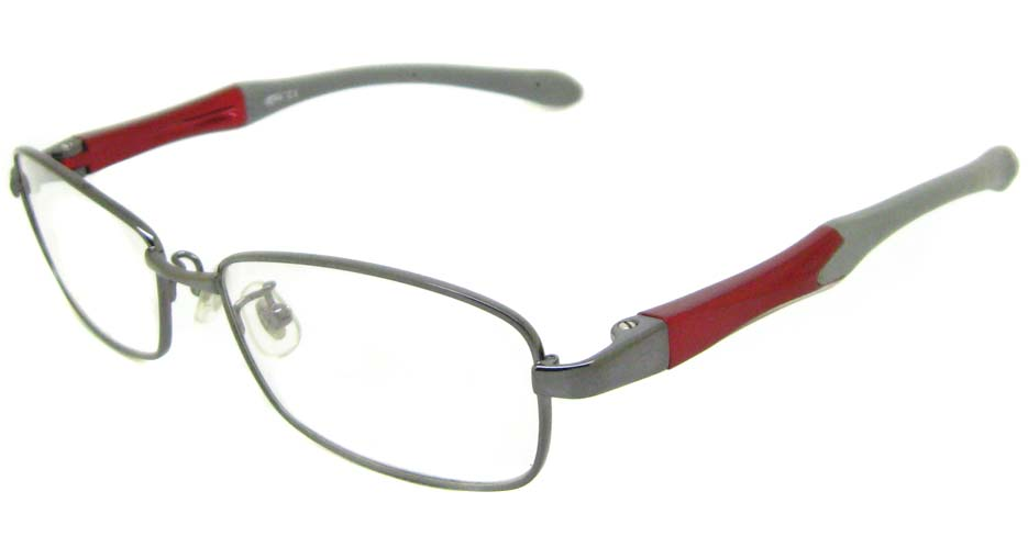 grey with wine oval sport glasses