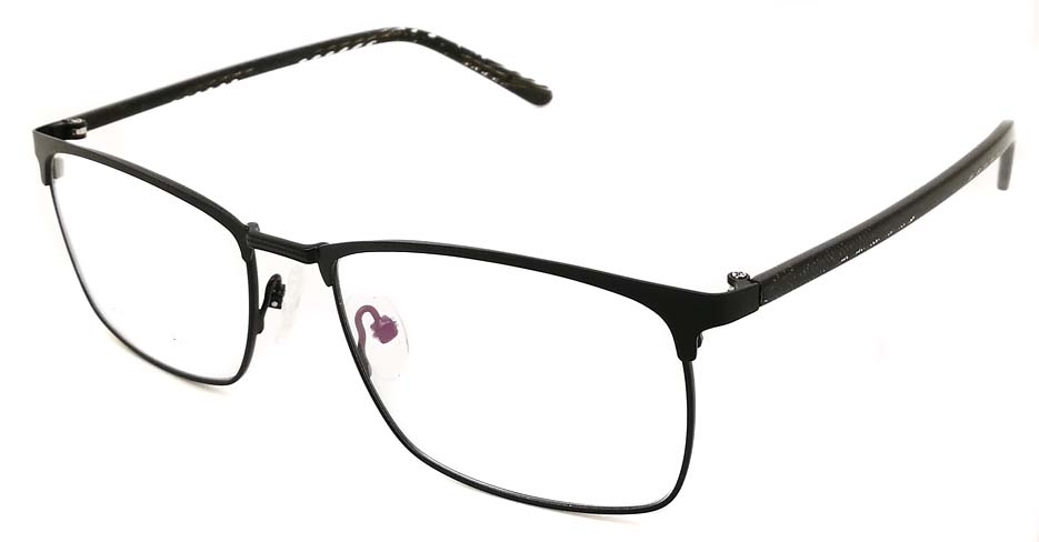 Black Rectangular blend glasses frame JX-32061-C4