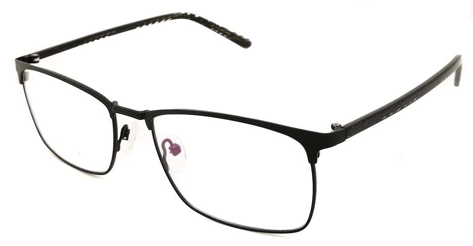 Black Rectangular blend glasses frame JX-32061-C4