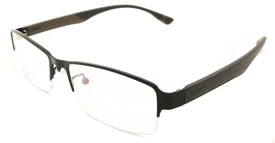 Black blend Rectangular glasses frame JX-3067-C4