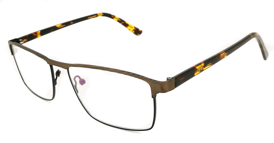 Tortoise Rectangular blend glasses frame JX-32062-C19