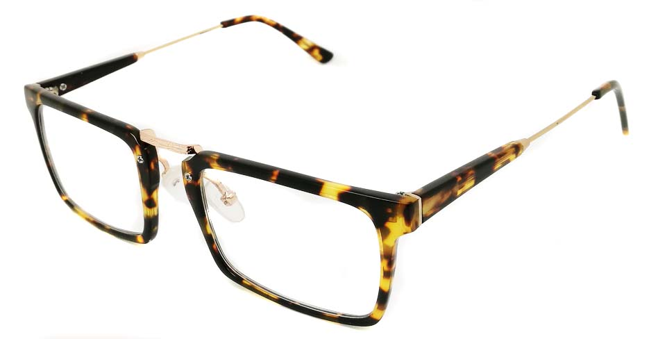Blend Tortoise Rectangular glasses frame PC-6101-C302