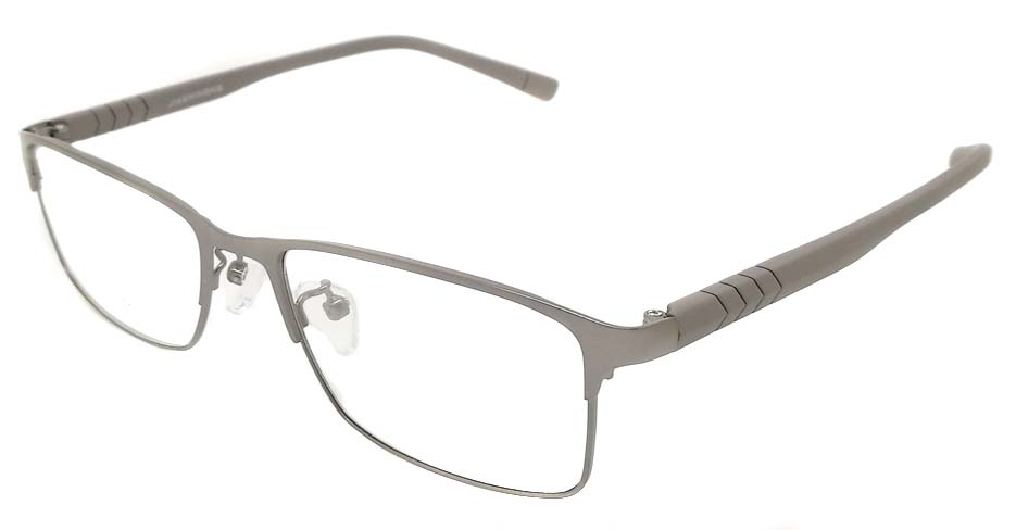 grey blend  Rectangular  glasss frame P8021-c2
