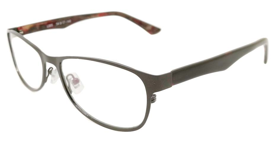 blend grey oval glasses frame JX-L012-C9