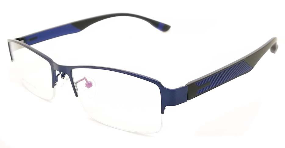 Blue blend Rectangular glasses frame JX-3067-C5