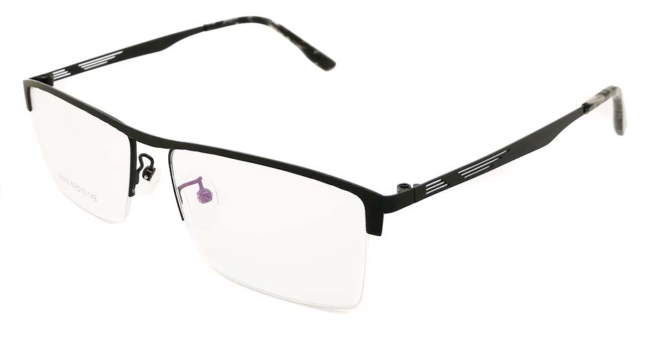 Black Rectangular blend glasses frame JX-32032-HS
