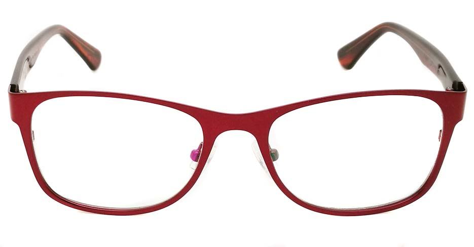 blend Red oval glasses frame JX-L002-C4