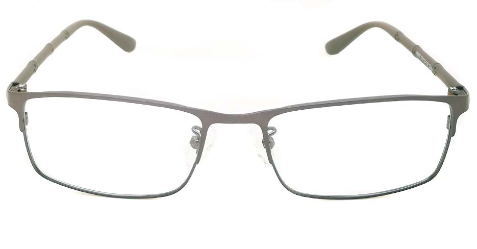 grey Rectangular Blend glasss frame P8026-c2