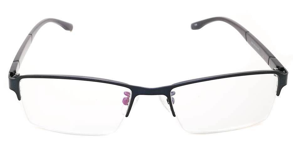 Blue blend Rectangular glasses frame JX-3038-C5