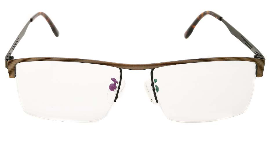 mens half rim glasses