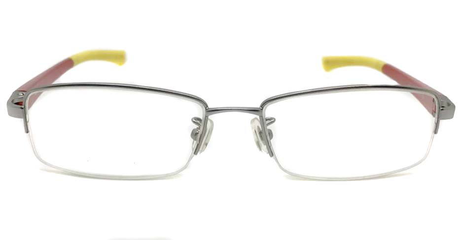 red with yello blend sports Rectangular glasses frame LT-G078-C2
