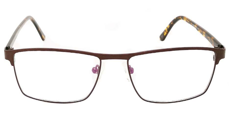 Tortoise Rectangular blend glasses frame JX-32062-C9