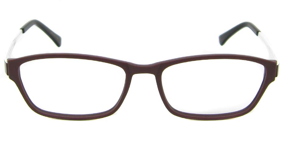 Coffee with White oval  metal and TR frame  WKY-WL3019-KFS