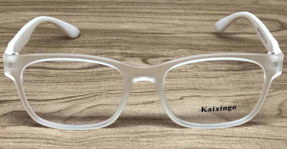 clear frame reading glasses