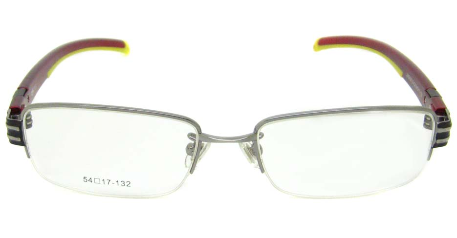 wine with yellow oval sport glasses frame LT-G027J3-C2