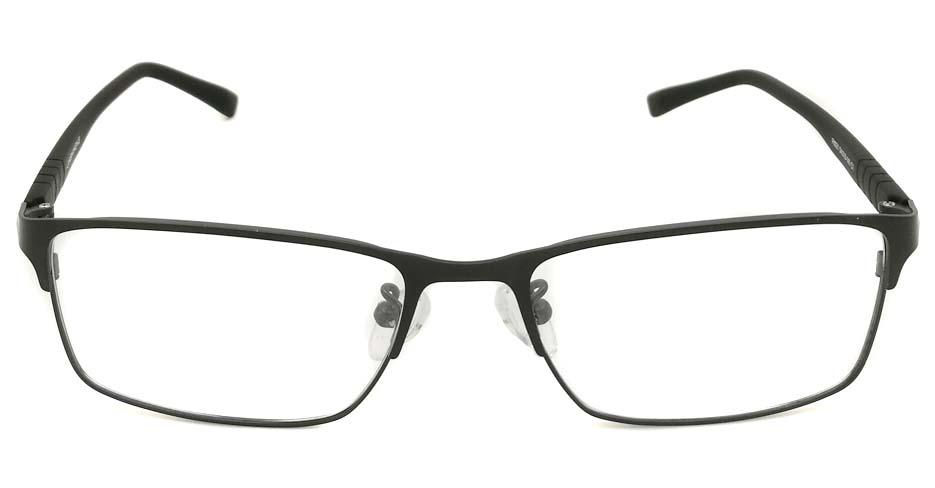 Black blend Rectangular  glasss frame P8021-c1