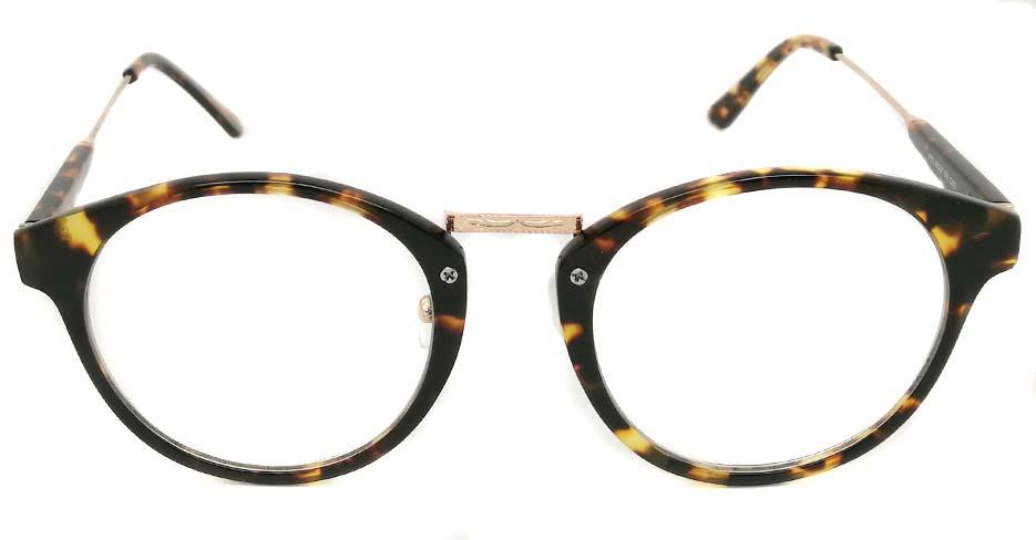 round tortoiseshell glasses