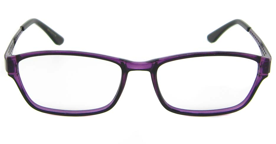 Purple oval  metal and TR frame WKY-WL3019-Z
