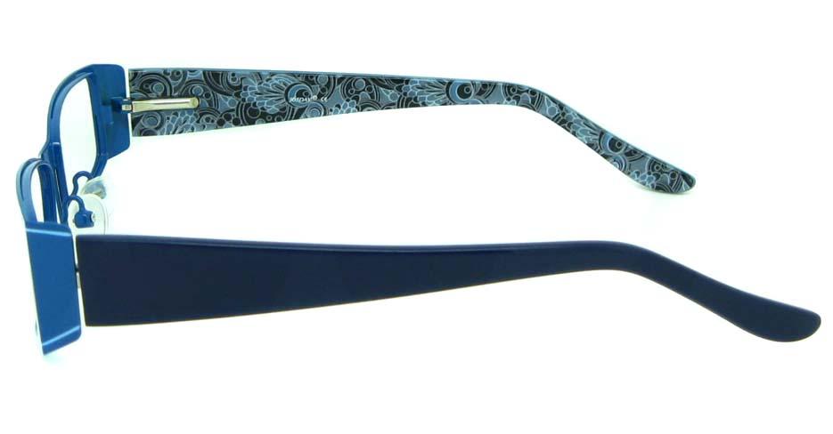 Brown rectangular blend eye glasses frame   HL-3046B-C3