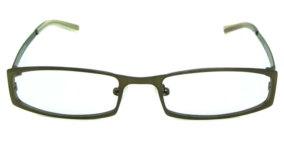 Tea Metal rectangular glasses frame     HL-1059-10