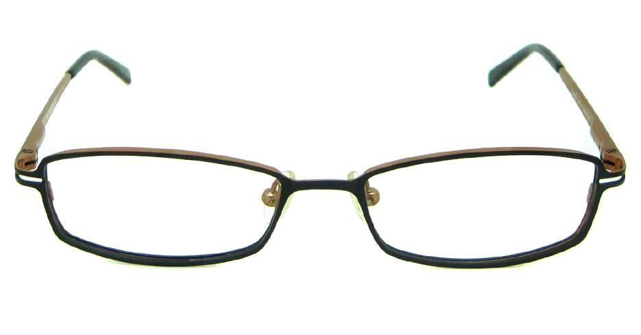 tea metal rectangular  glasses frame  HL-238-3