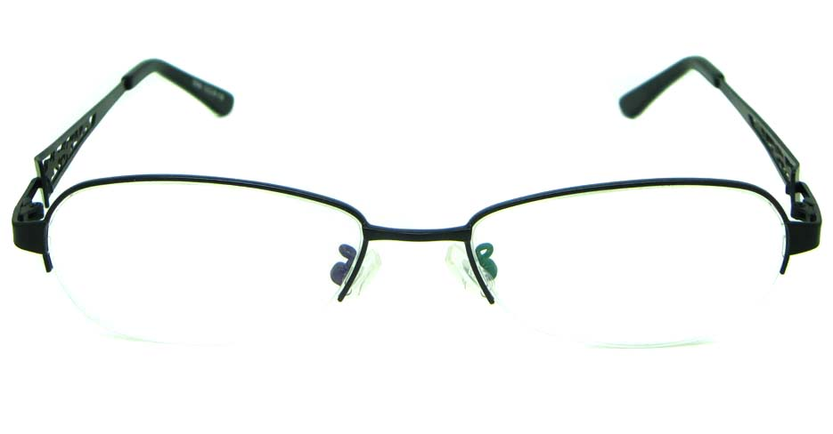 Black  metal oval glasses frame  HL-S986-H