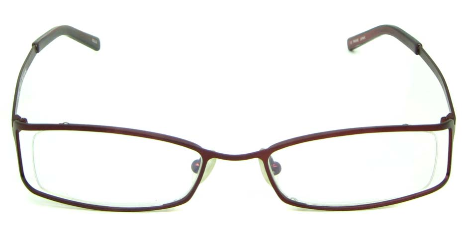 wine metal rectangular glasses frame     HL-ST2017-02