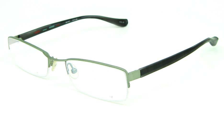 black blend rectangular glasses frame HL-M2107-33