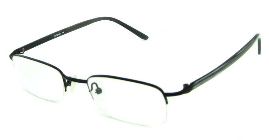black blend rectangular glasses frame  HL-HY55182-MZW