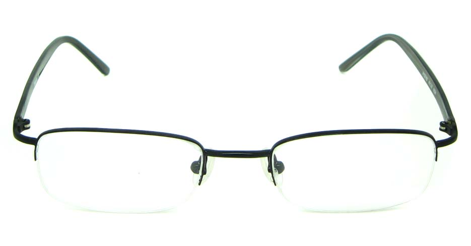black blend rectangular glasses frame  HL-HY55182-MZW