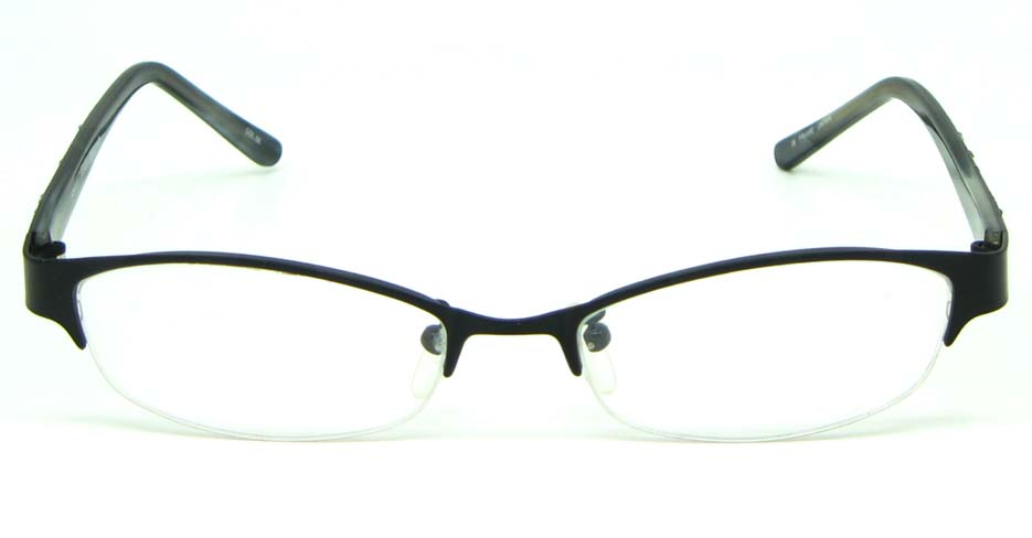 black blend rectangular   glasses frame HL-ST2433-06
