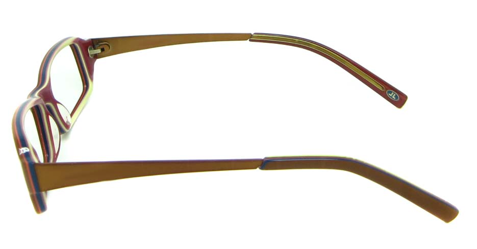 Tea with Purple Blend Rectangle glasses frame HL-5446-B