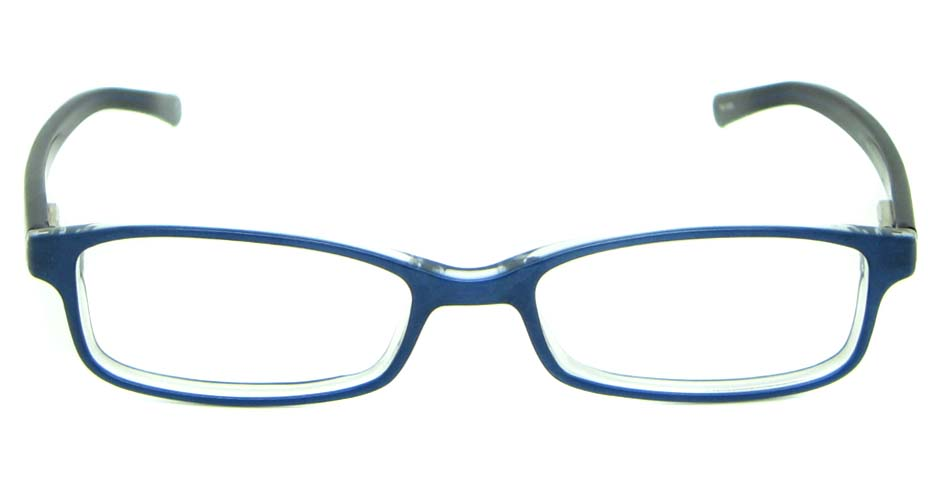 blue with black acetate rectangular    HL-JL5405-B