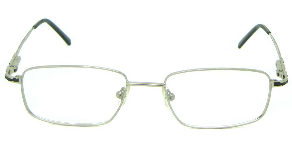 silver metal oval glasses frame HL-1755-003