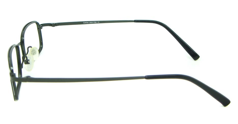 black metal  Rectangular glasses frame HL-HM55266-MZW