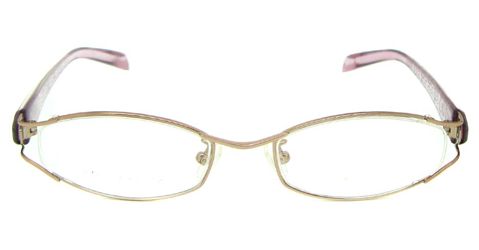 pink blend cat eye glasses frame JS-JDH200819-c2