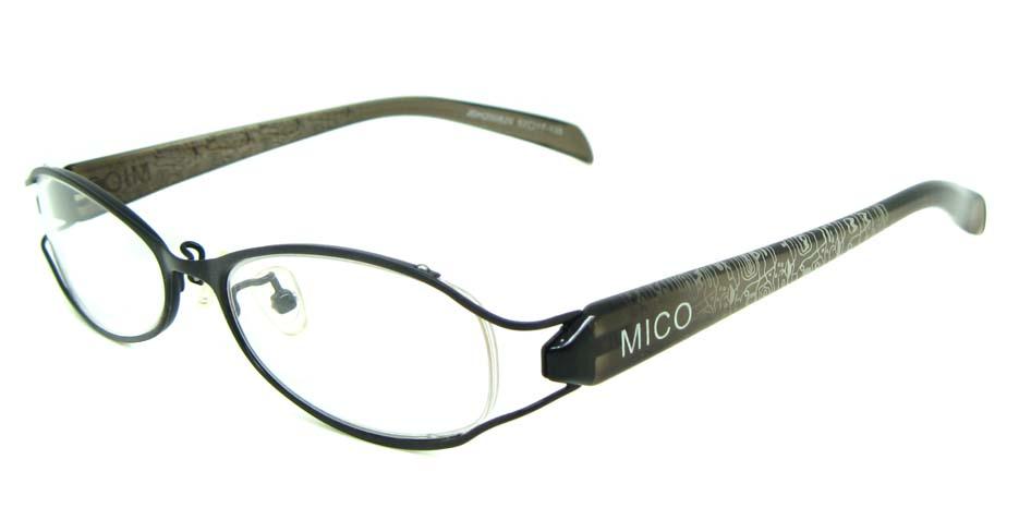 black blend rectangular glasses frame  JS-JDH200820-c3