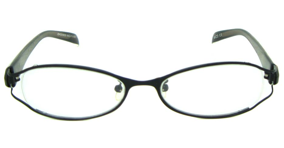 black blend rectangular glasses frame  JS-JDH200820-c3