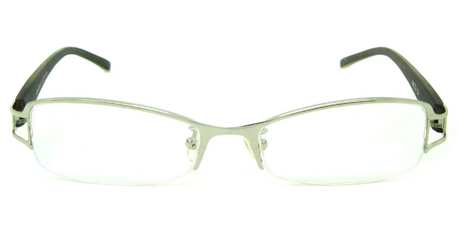 silver blend rectangular glasses frame  JS-JDH200822-c4