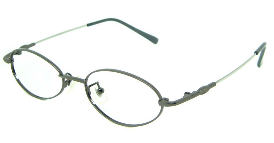 grey metal rectangular glasses frame    JS-LJS9927-Q