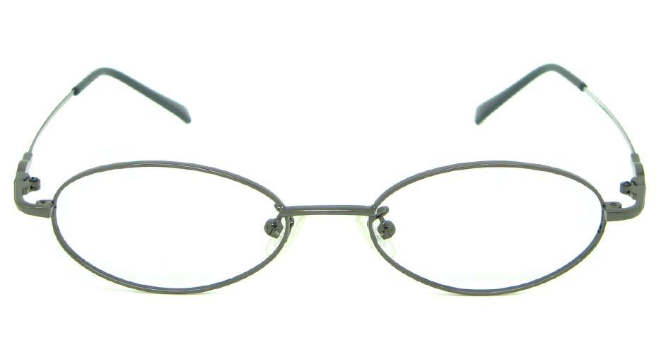 grey metal rectangular glasses frame    JS-LJS9927-Q